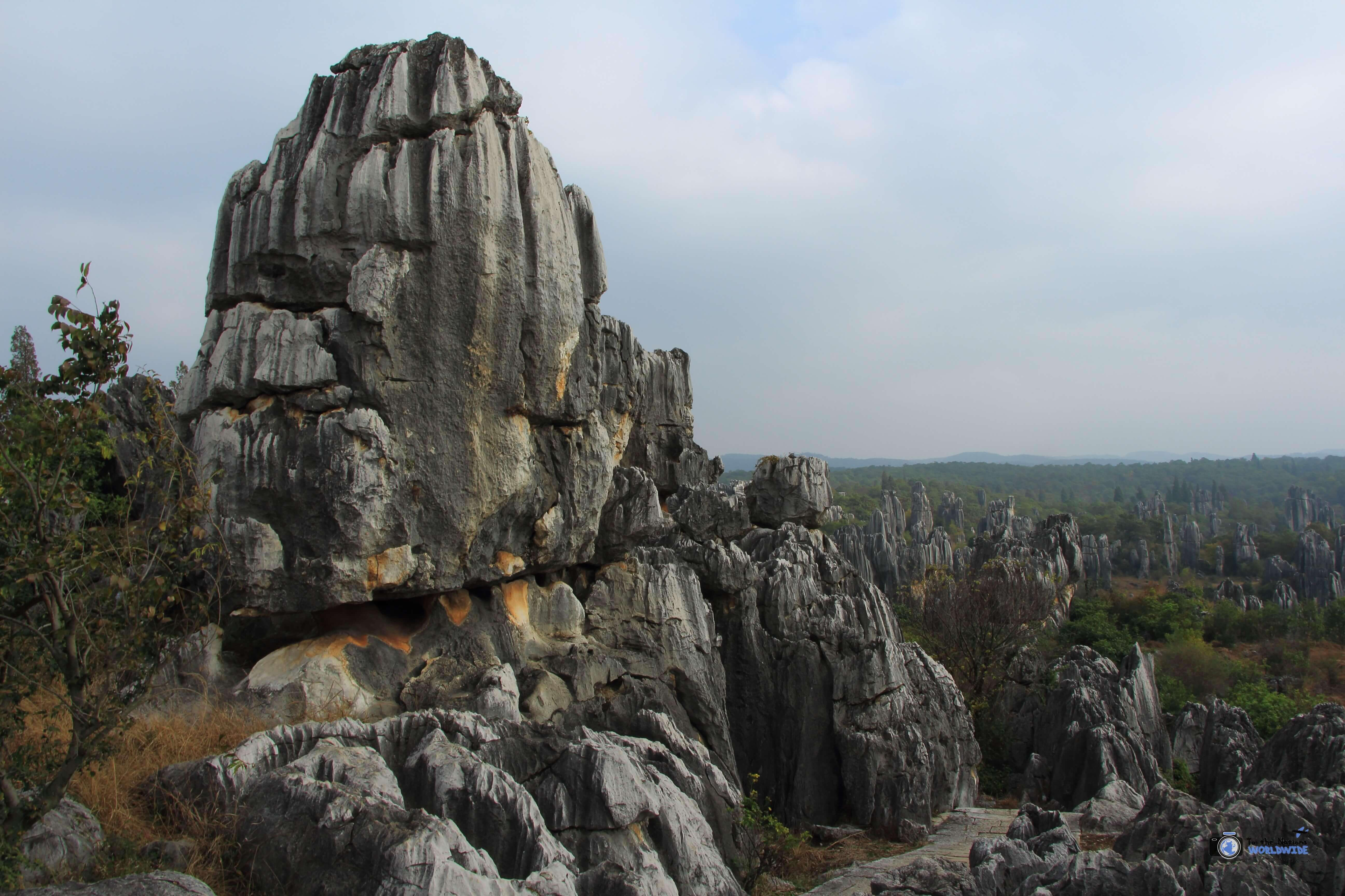 Natural Attractions: The Stone Forest Near Kunming, China