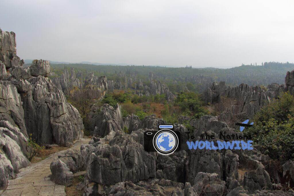 The Stone Forest, Kunming, China