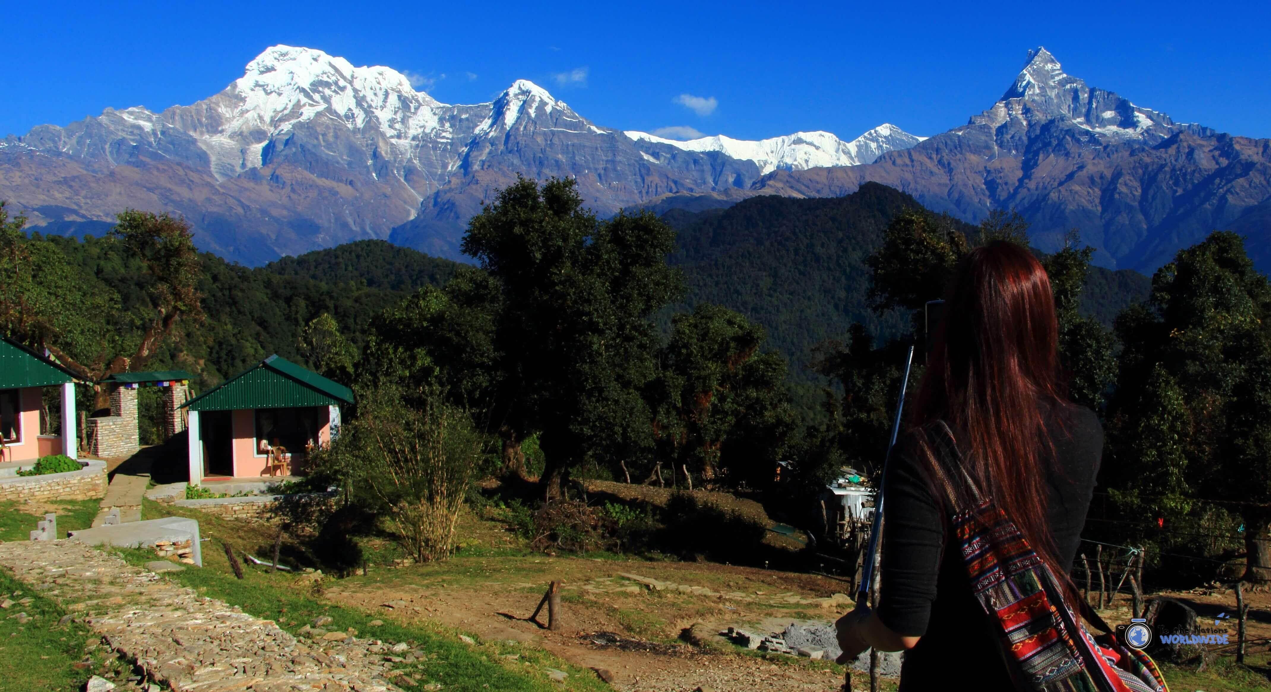 One Day Trek in Pokhara, Nepal
