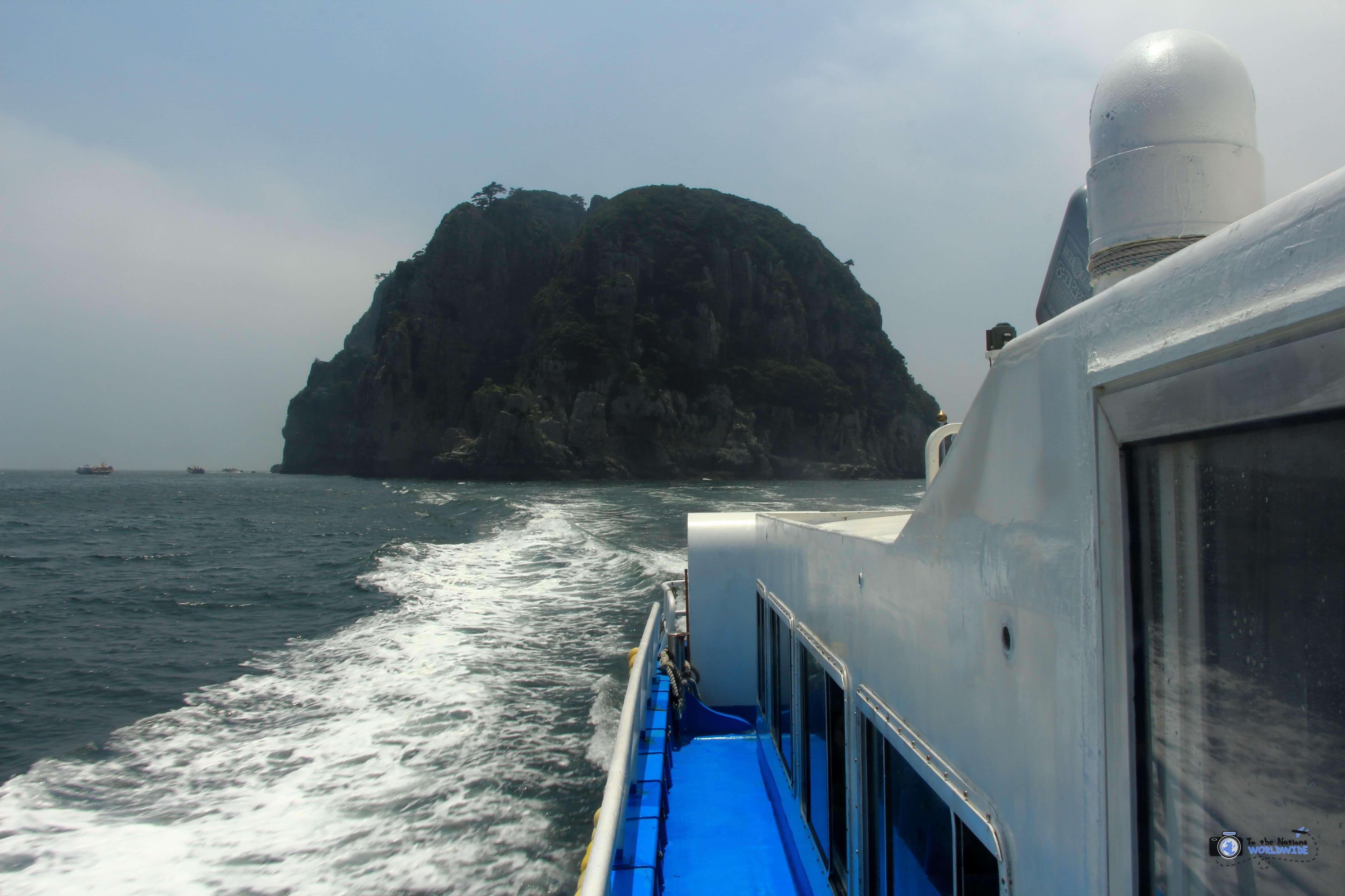 Haegeumgang Island, Geoje Island, South Korea