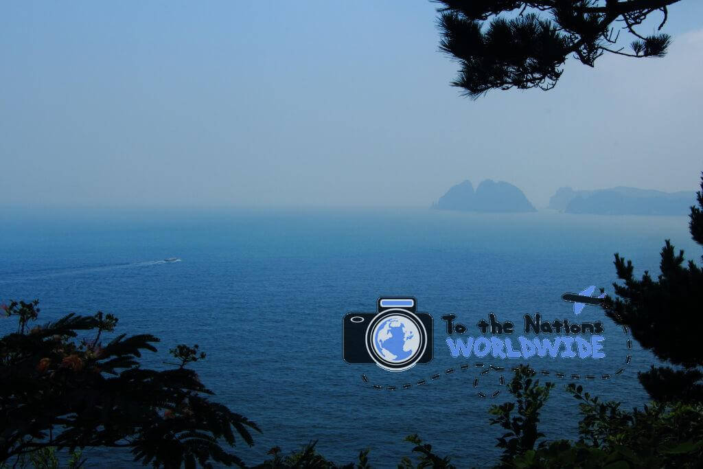 Oedo Island, off of Geoje Island, South Korea