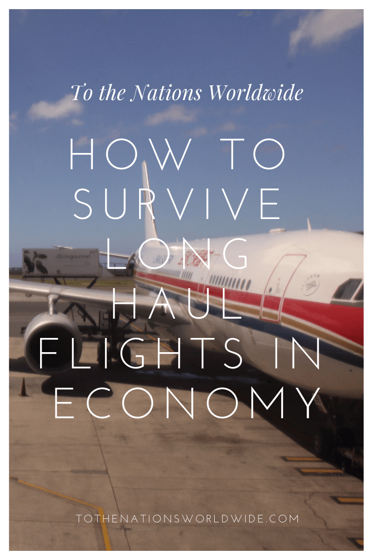 How to Survive Long Haul Flights in Economy