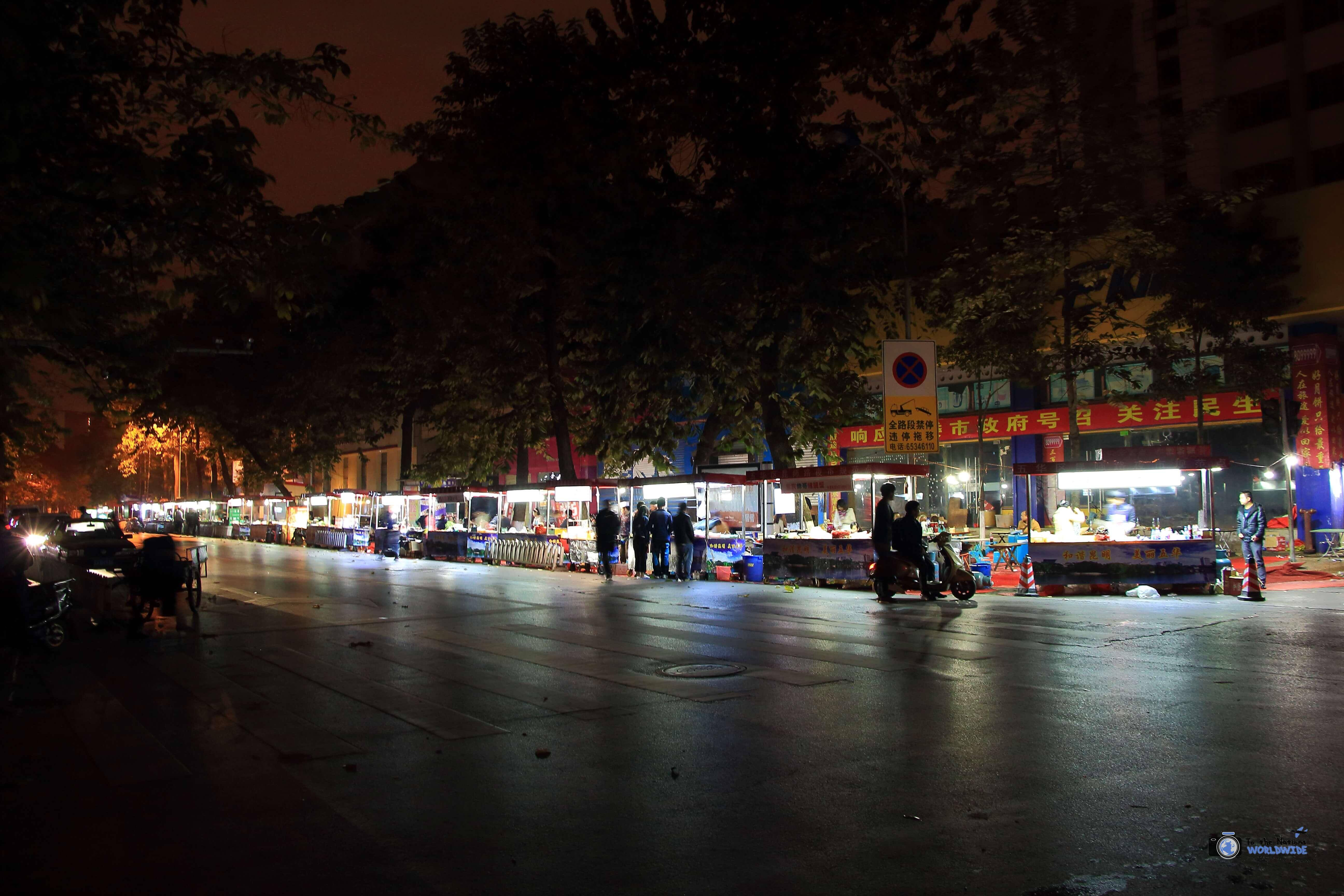 Street Food in Kunming, China