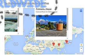 To the Nations Worldwide Travel Photo Map