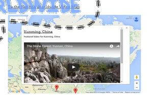 To the Nations Worldwide Travel Video Map