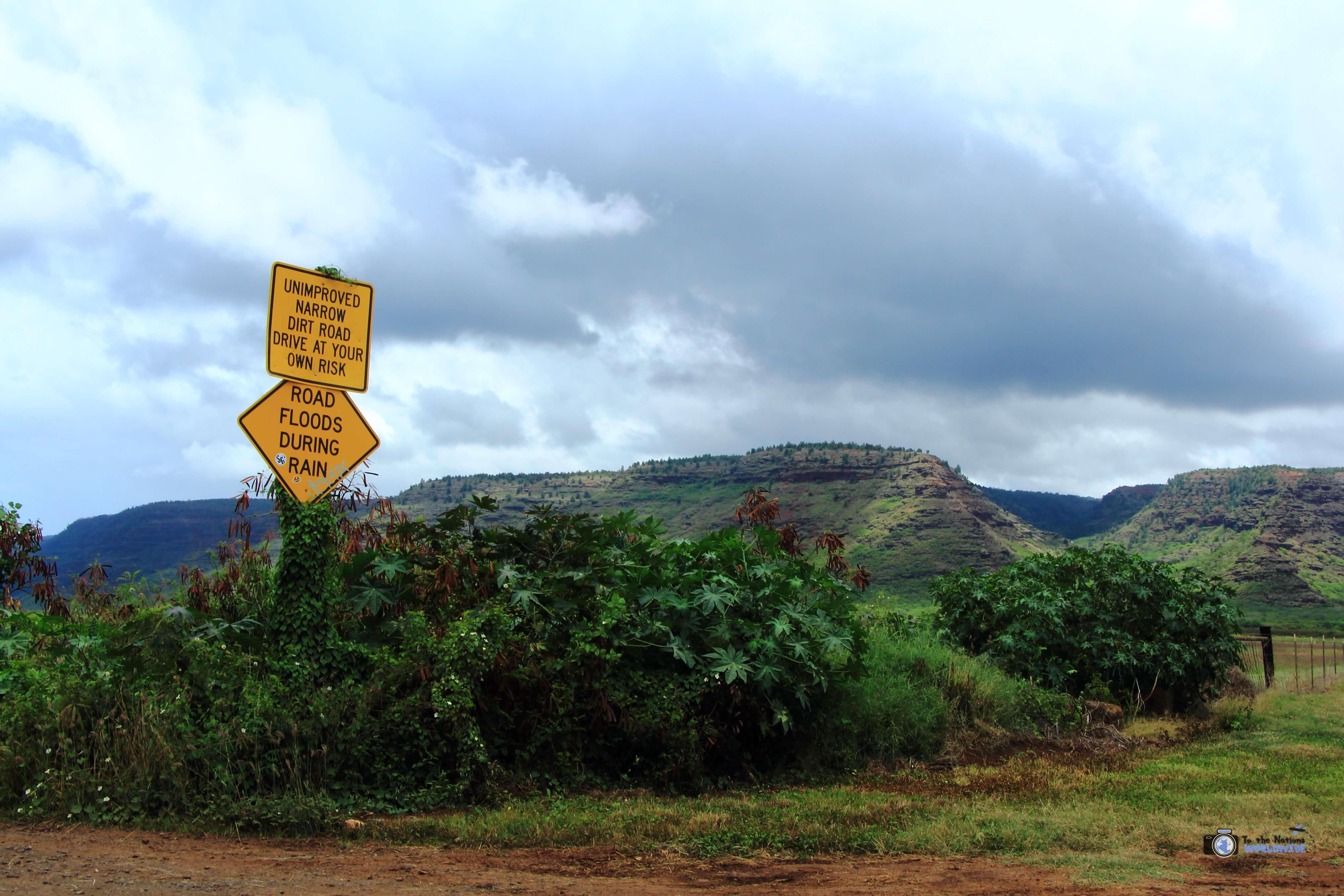 Polihale State Park in Kauai, Hawaii