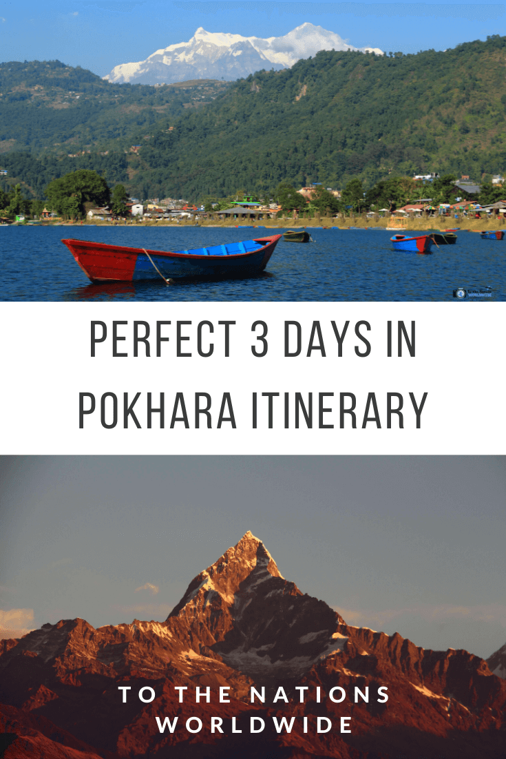 Perfect 3 Days in Pokhara Itinerary