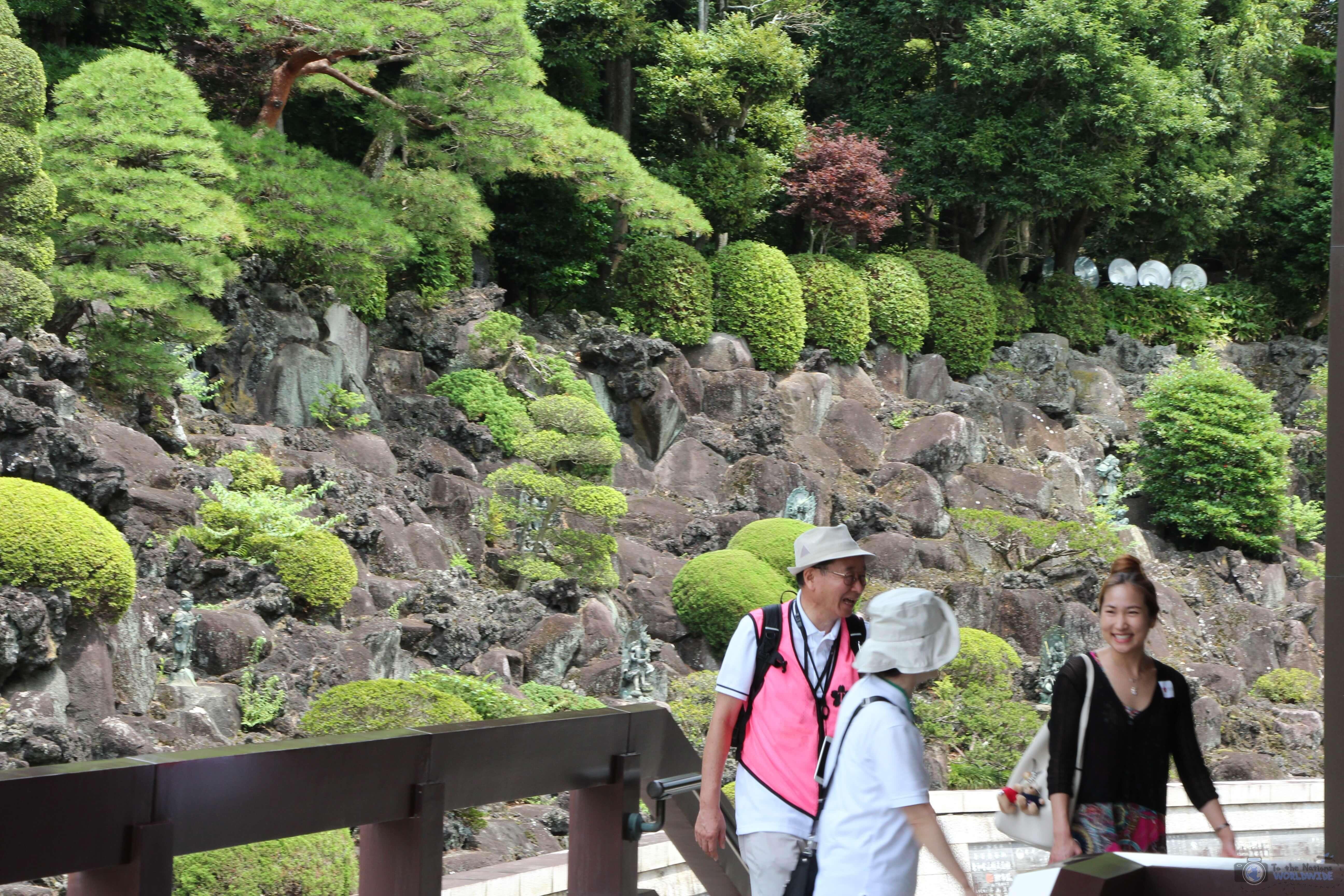 The Temple Gardens in Naritisan Shinshoji Temple in Narita, Japan