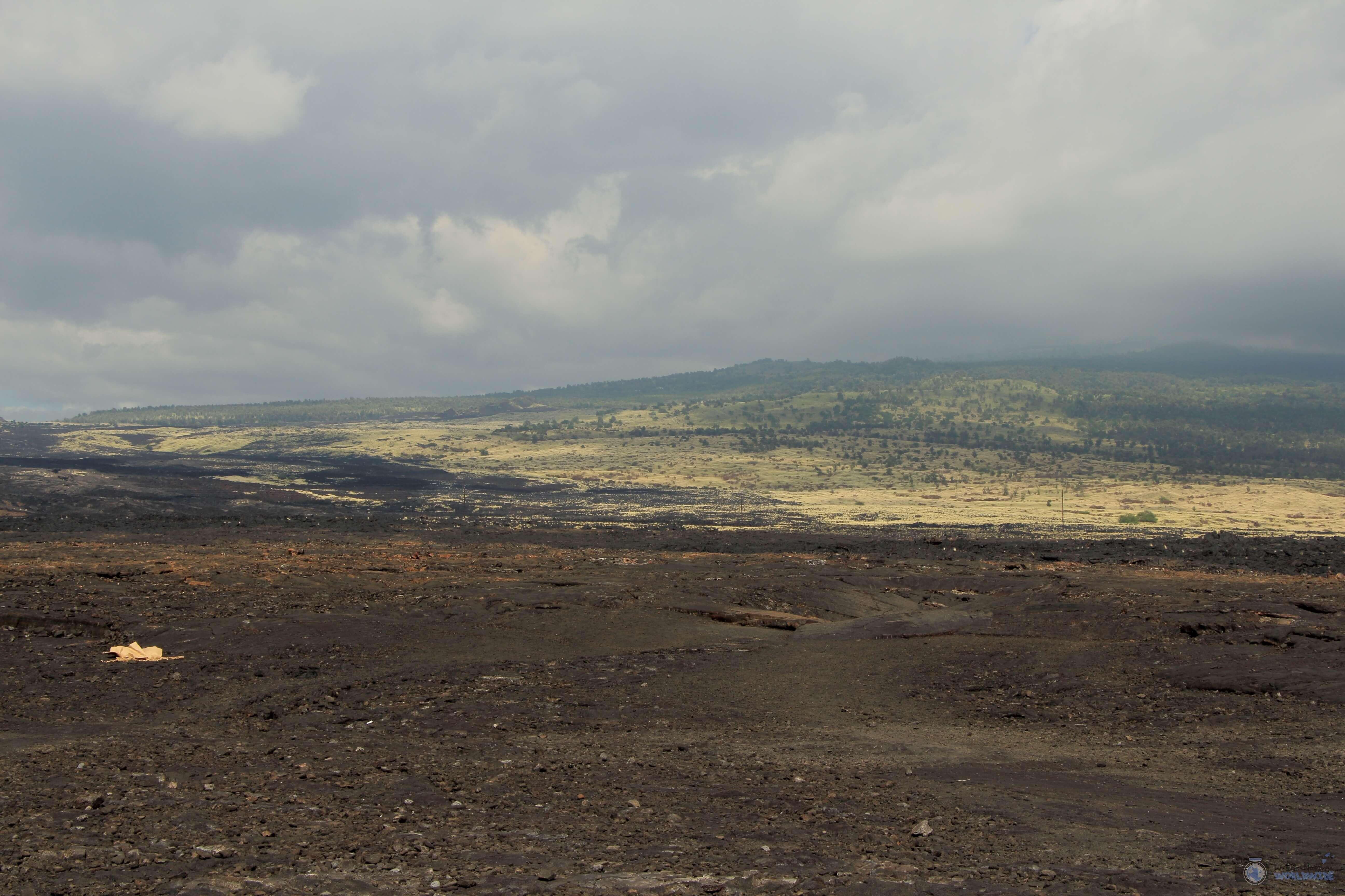 Volcanic Landscape, Kona, Island of Hawaii,