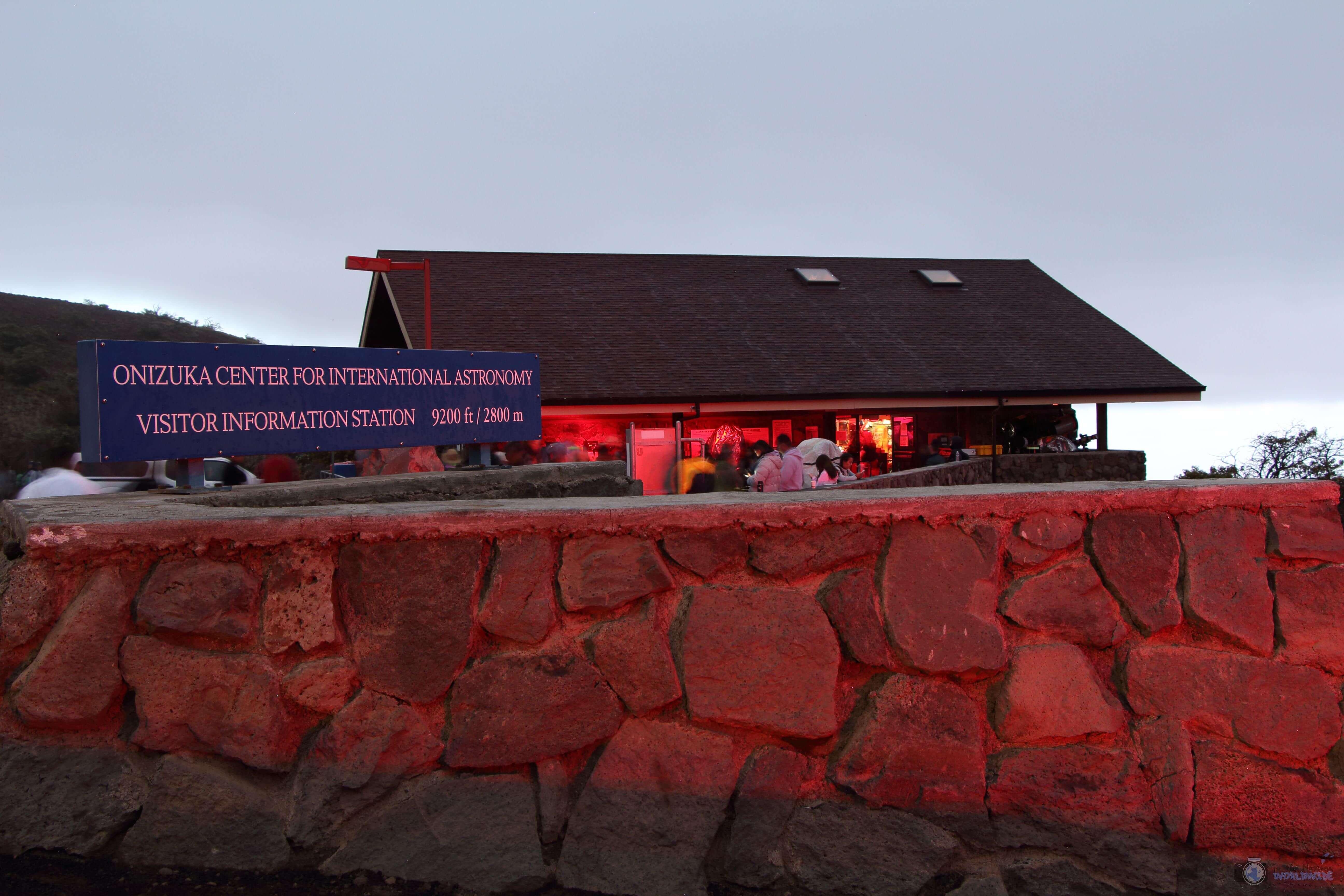 Mauna Kea Visitor's Center, Island of Hawaii, Hawaii