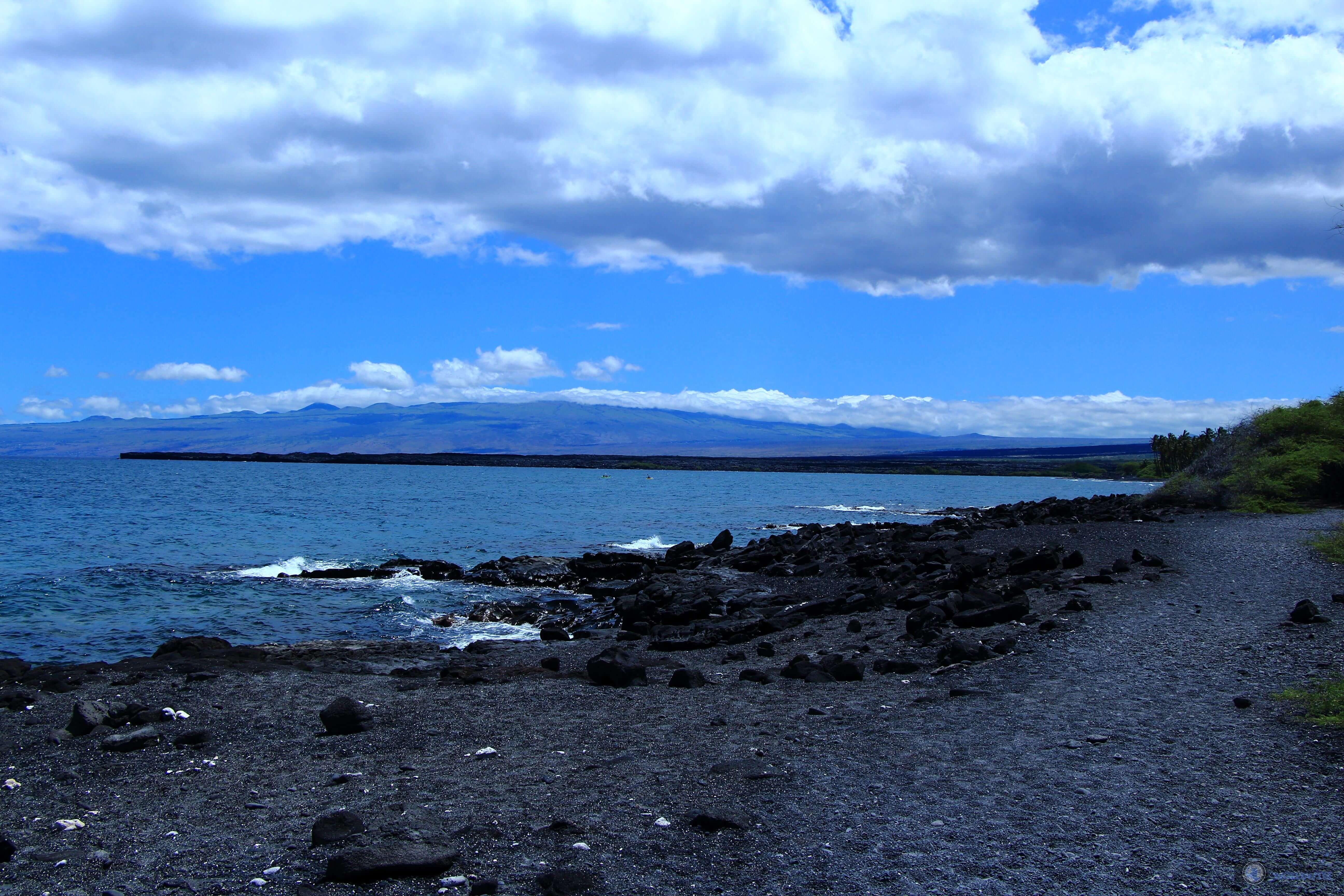 Kiholo Bay, Kona, Island of Hawaii