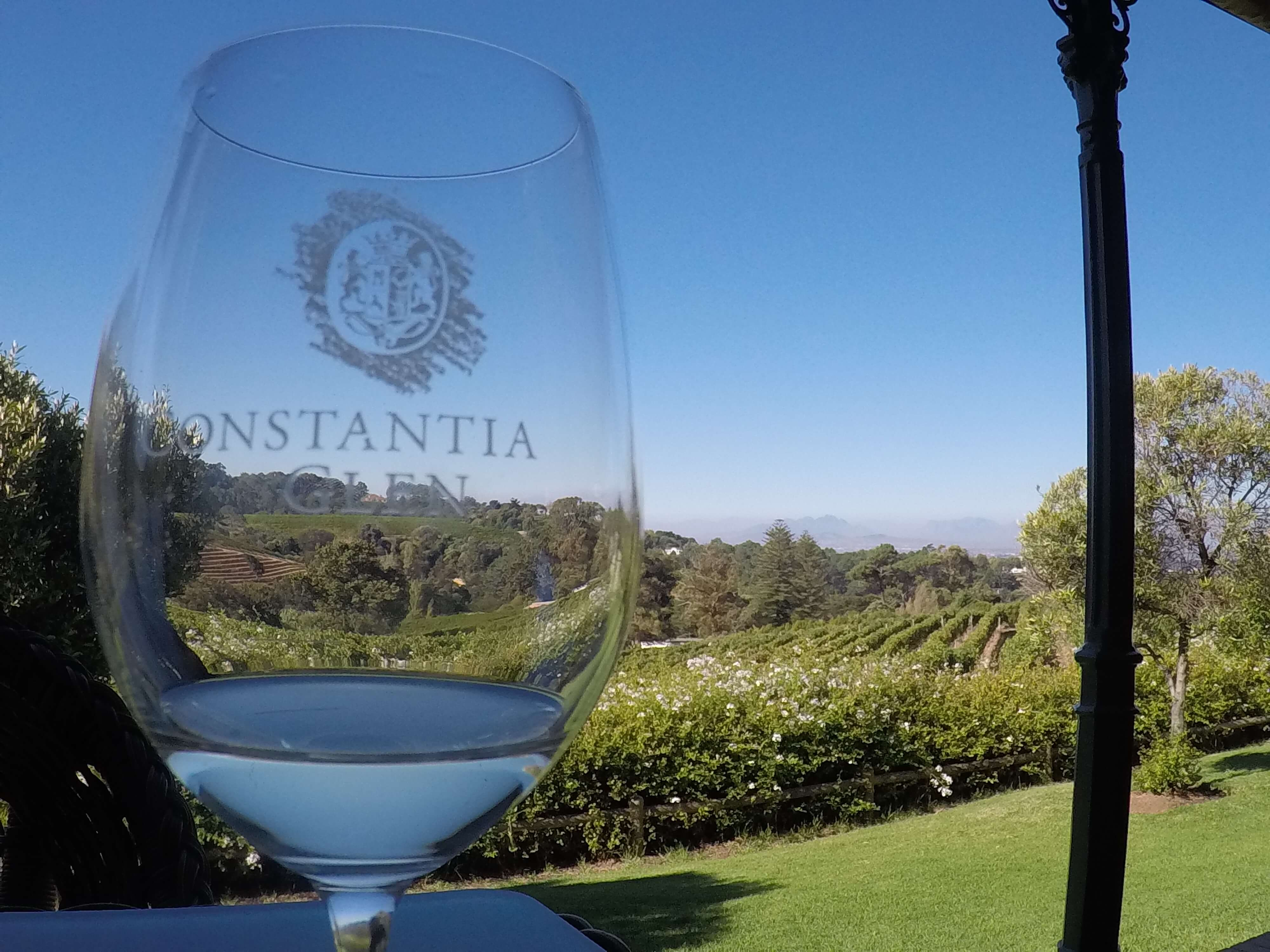 Wine tasting at constantia glen winery cape town south africa