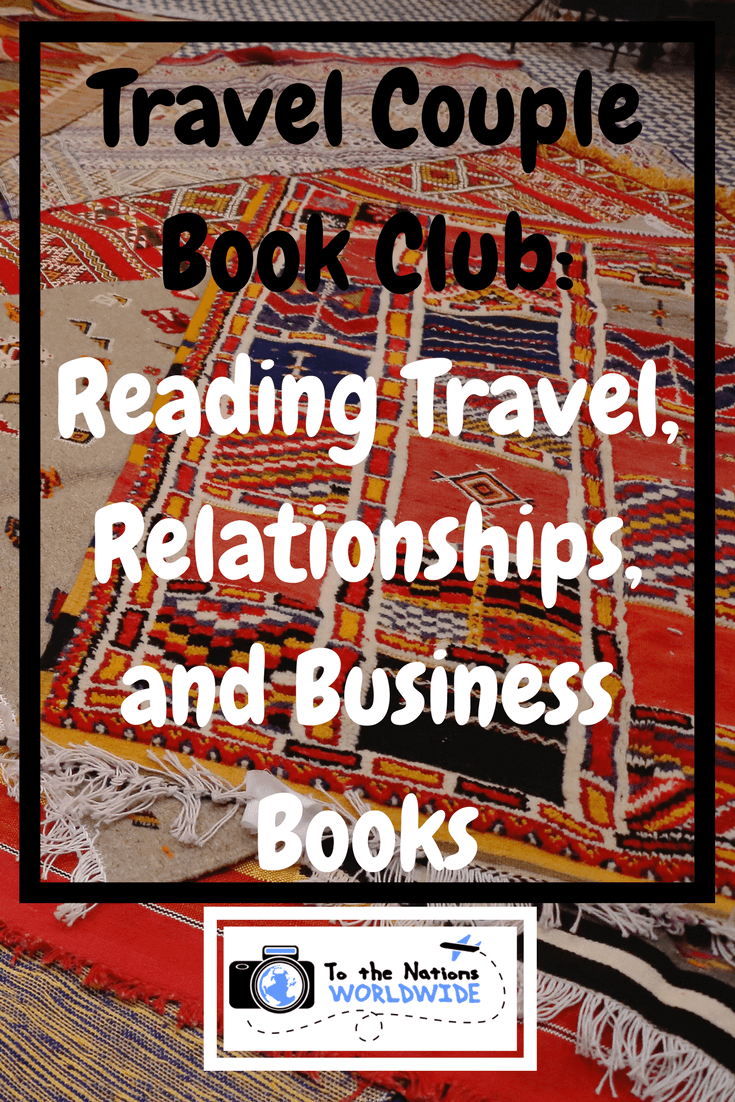 Travel Couple Book Club Reading Travel, Relationships, and Business Books