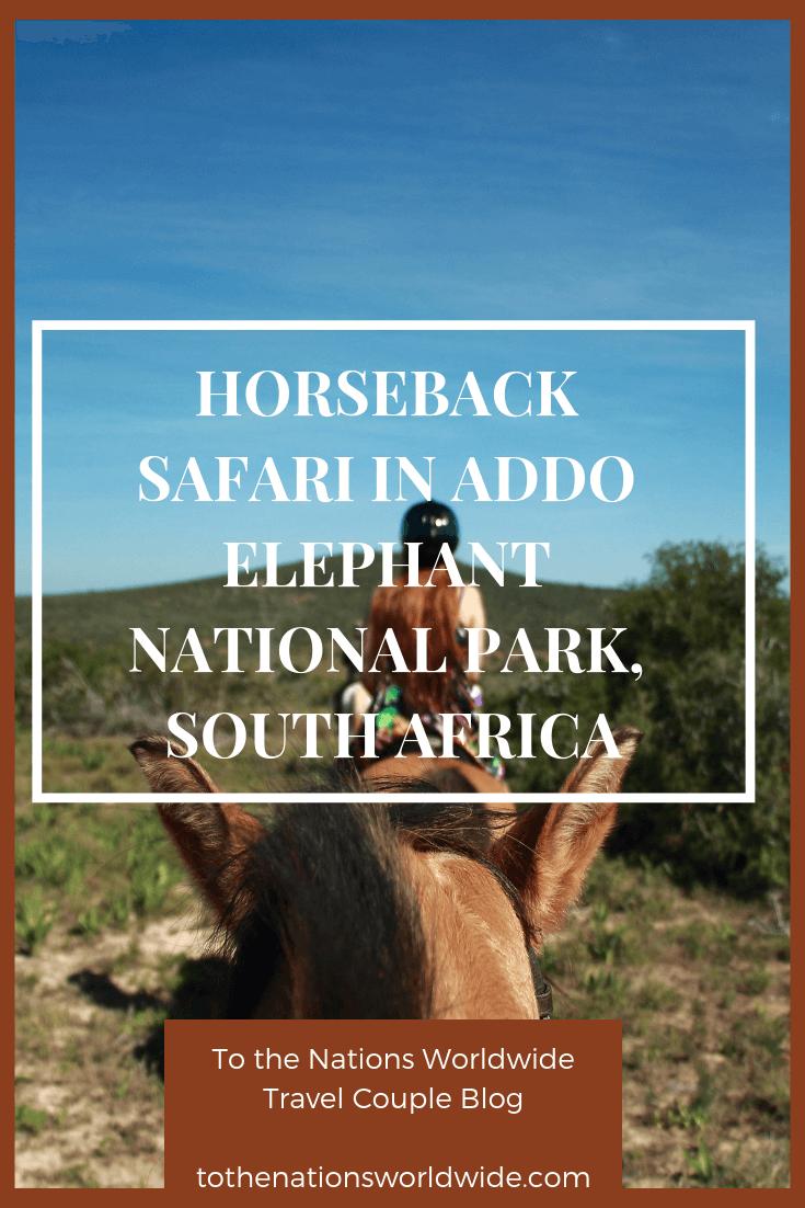 Horseback Safari in Addo Elephant National Park, South Africa