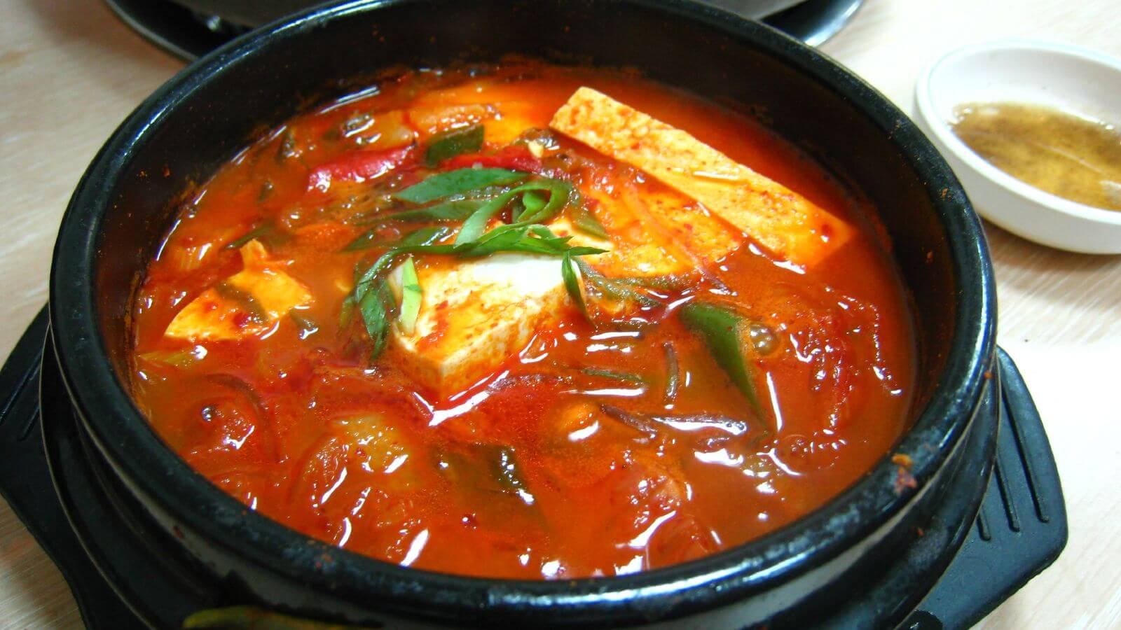 Kimchi Jjigae Seoul South Korea Food Tour