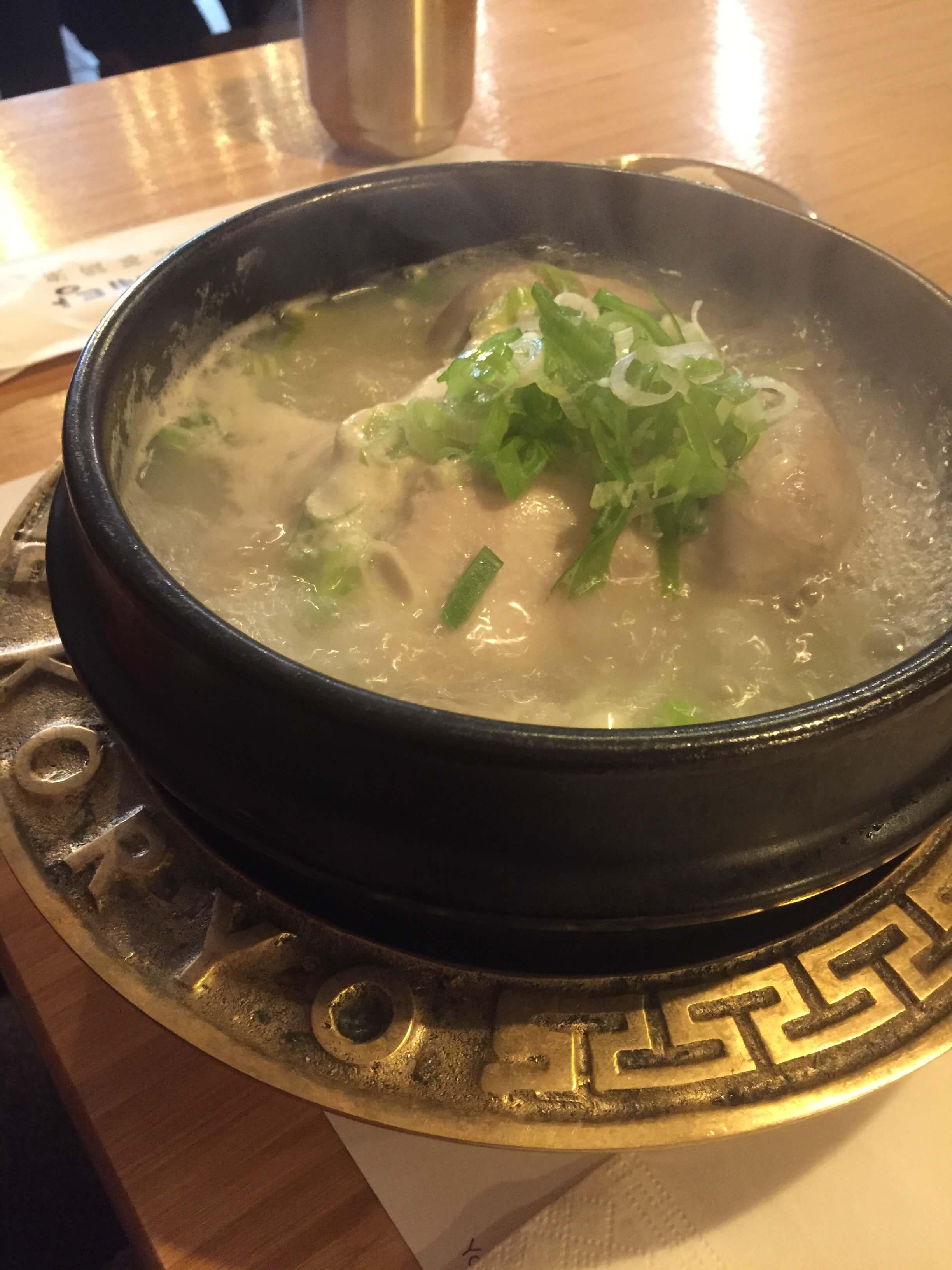 Samgyetang Seoul South Korea Food Tour