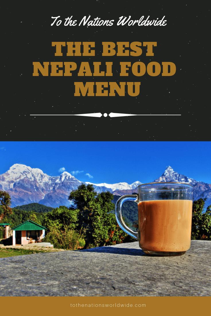 Best Nepali Food Menu