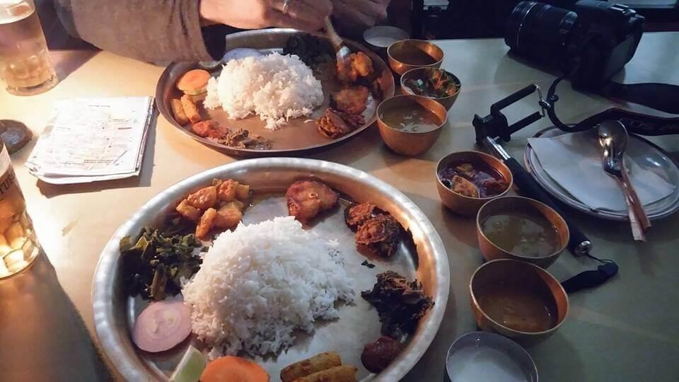 dal bhat best nepali food menu