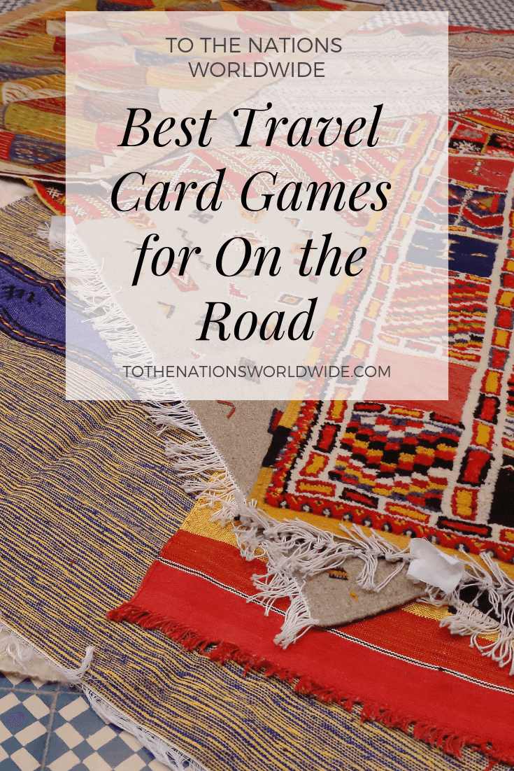 Best Travel Card Games for On the Road
