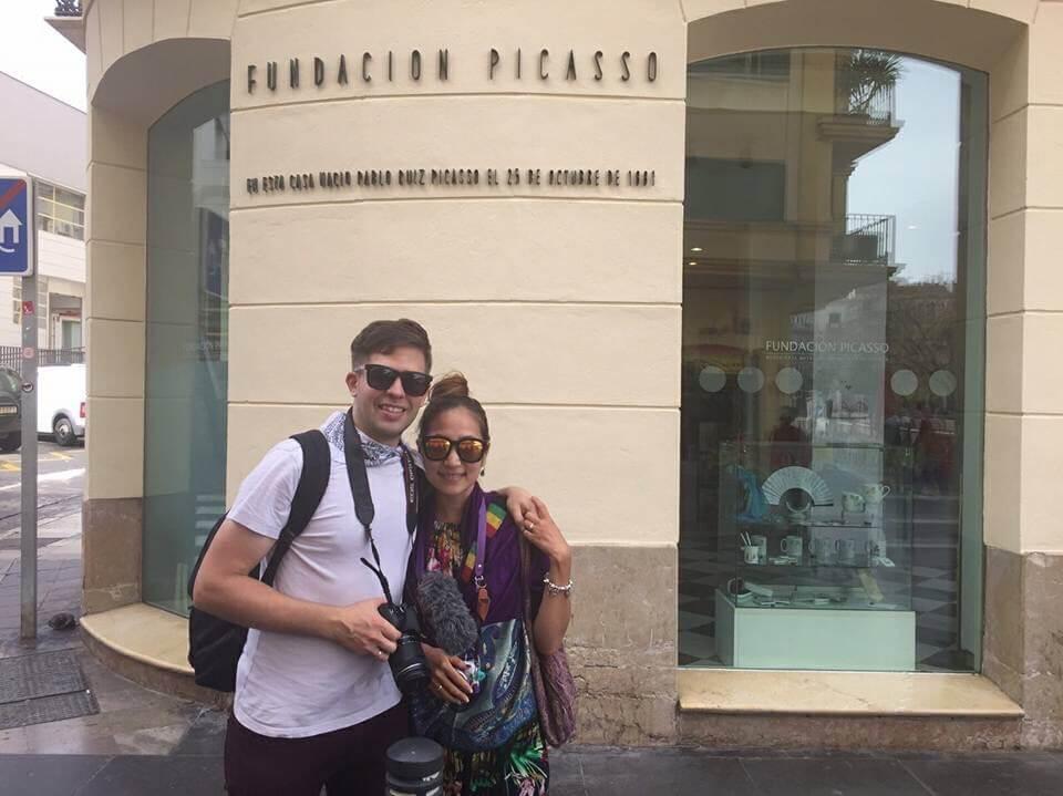 Fondacion Picasso, Pablo Picasso's Residence in Malaga, Spain