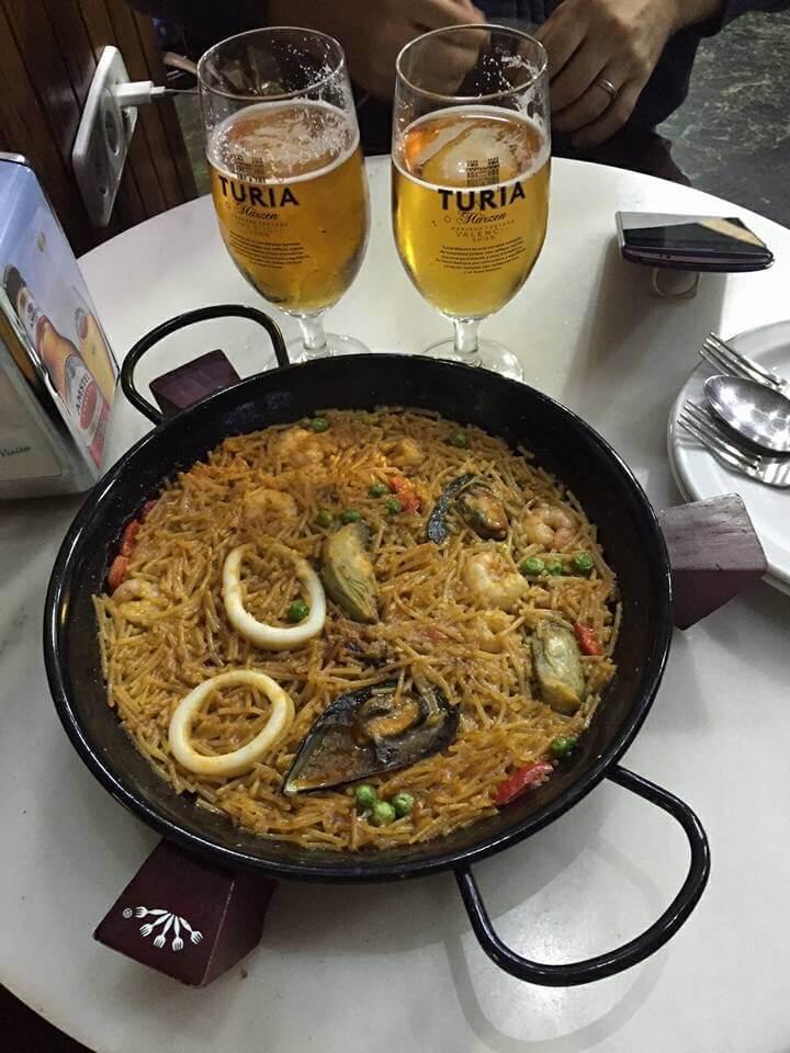 Paella in Valencia, Spain