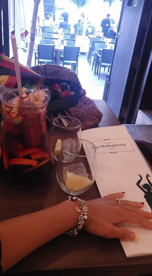 Sangria and Tapas Restaurant in Malaga, Spain