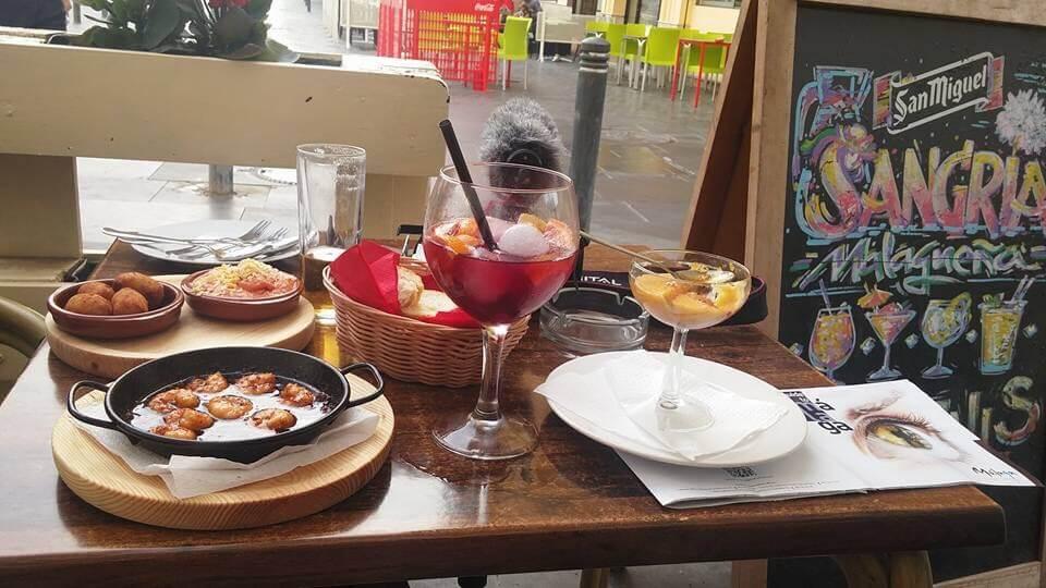 Tapas Restaurant in Malaga, Spain