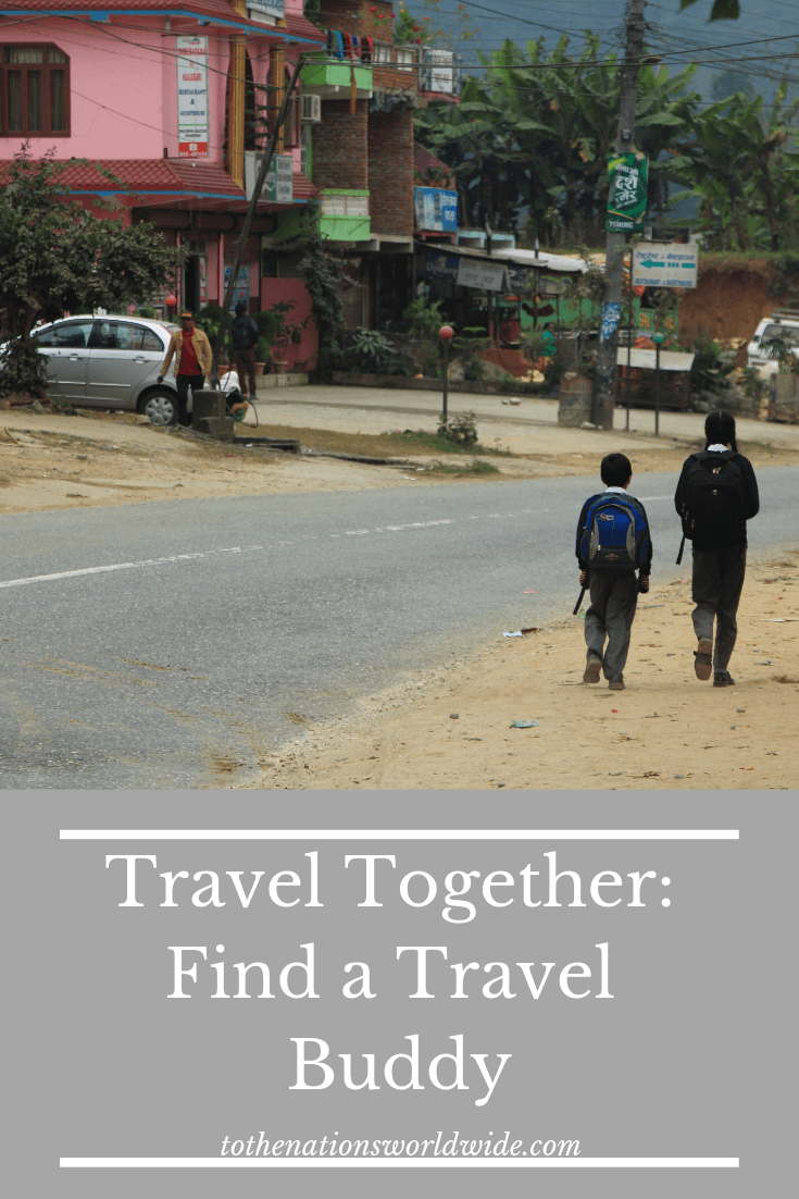 Travel Together: Find a Travel Buddy