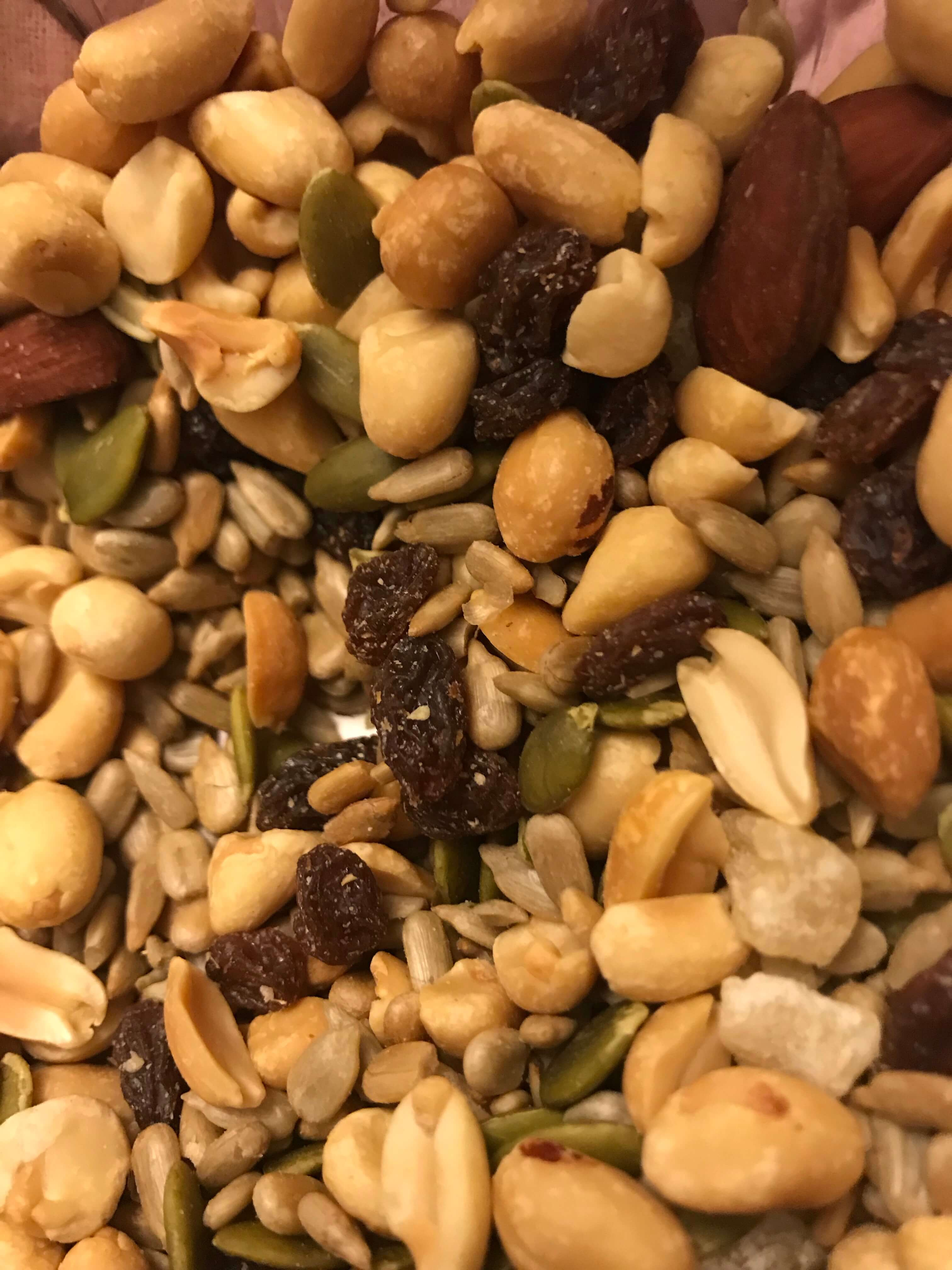 Trail Mix Camping Food