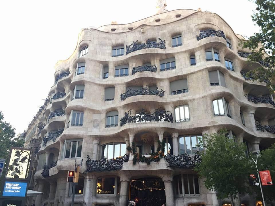 Casa Batlló and Casa Milà, Barcelona, Spain