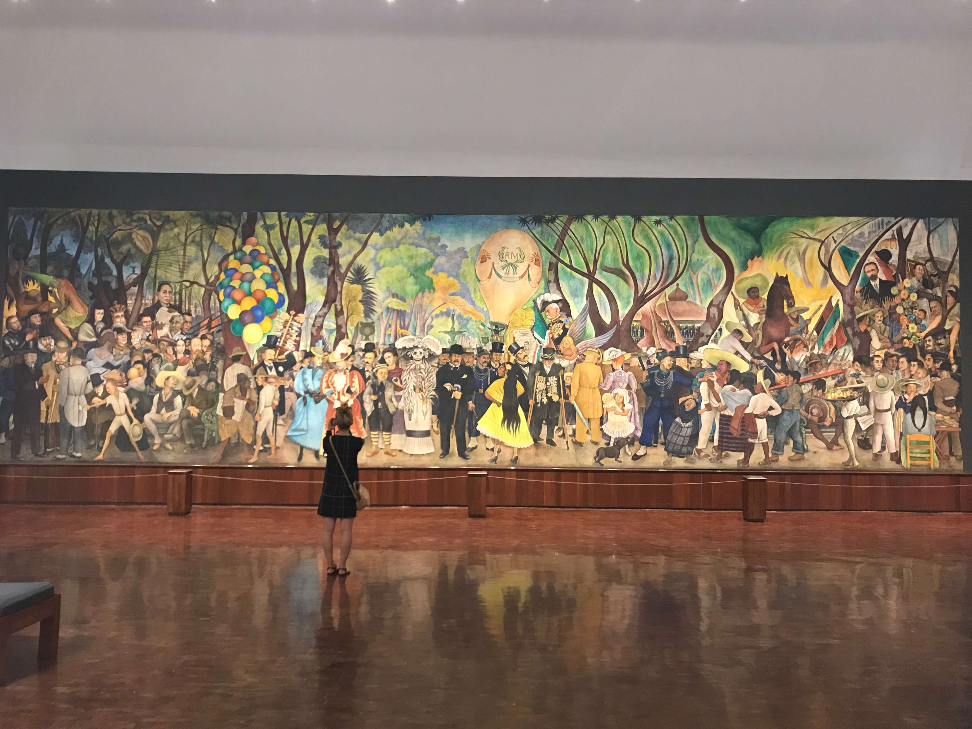 Diego Rivera Mural Museum One Day in Mexico City Historic Center Walking Tour