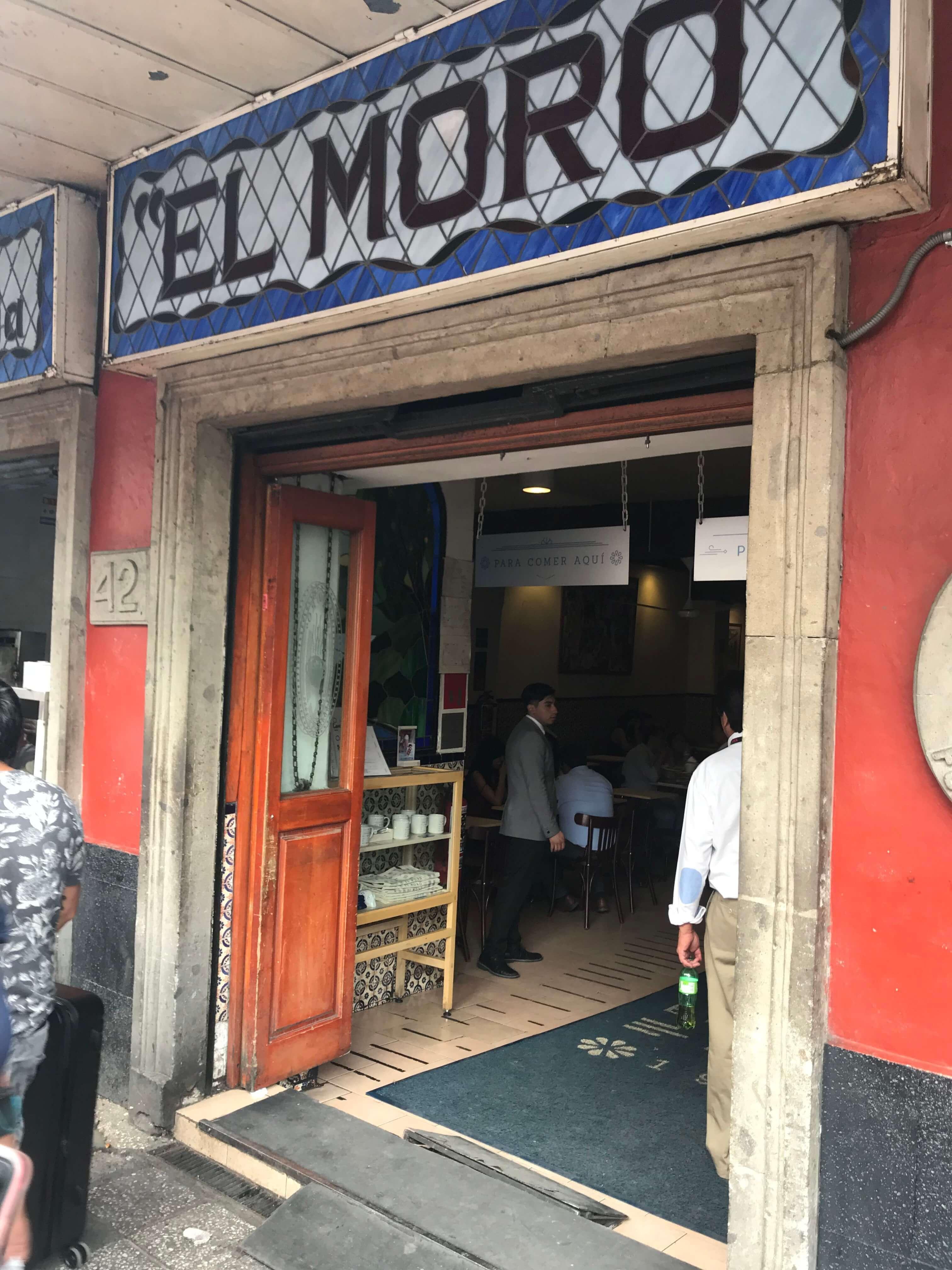 El Moro Restaurant Mexico City