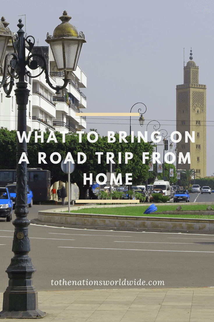 What to Bring On a Road Trip From Home