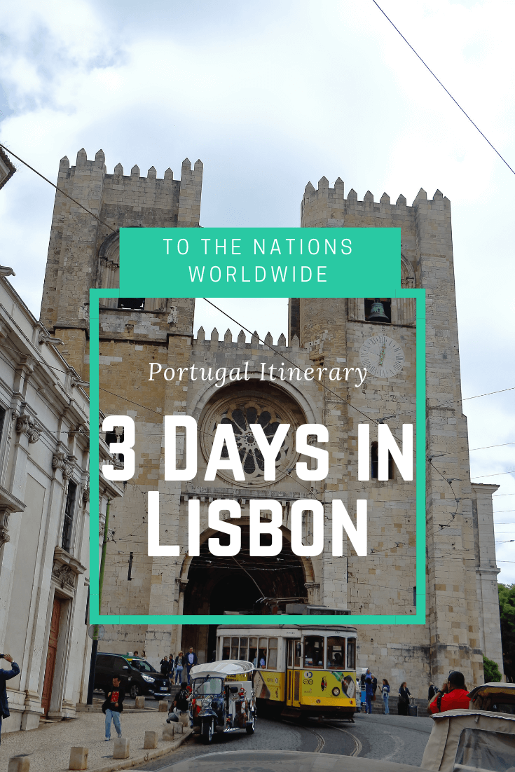 3 Days Lisbon Itinerary