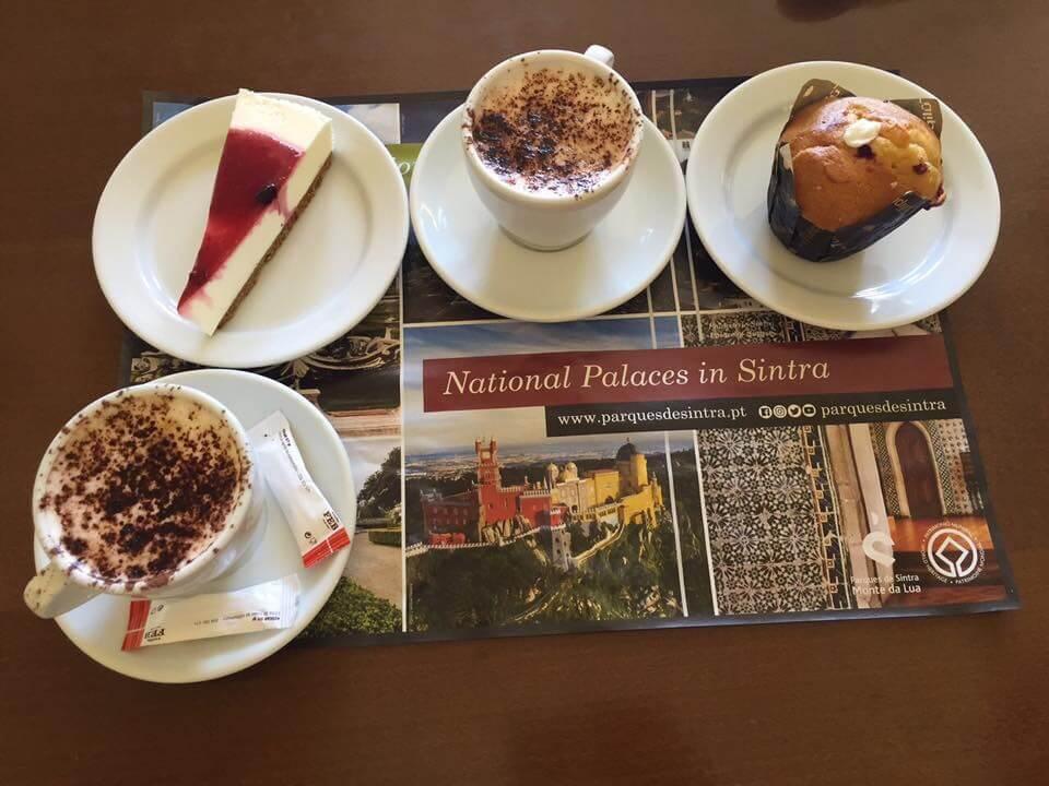 Pena Palace Desserts, Sintra, Portugal