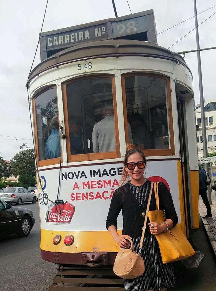 Tram 28 Lisbon, Portugal