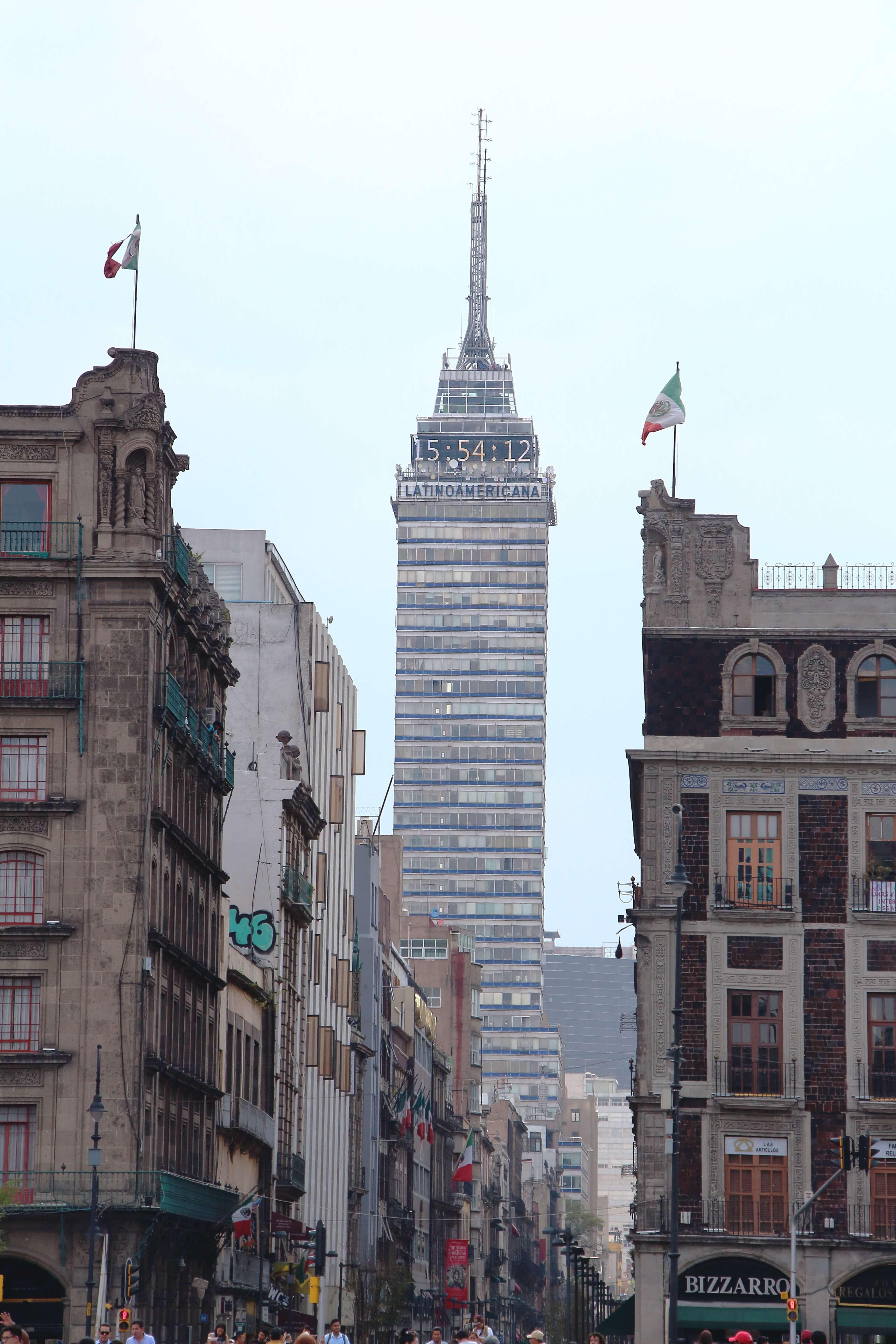 Torre Latinoamericano, Mexico City Walking Tour