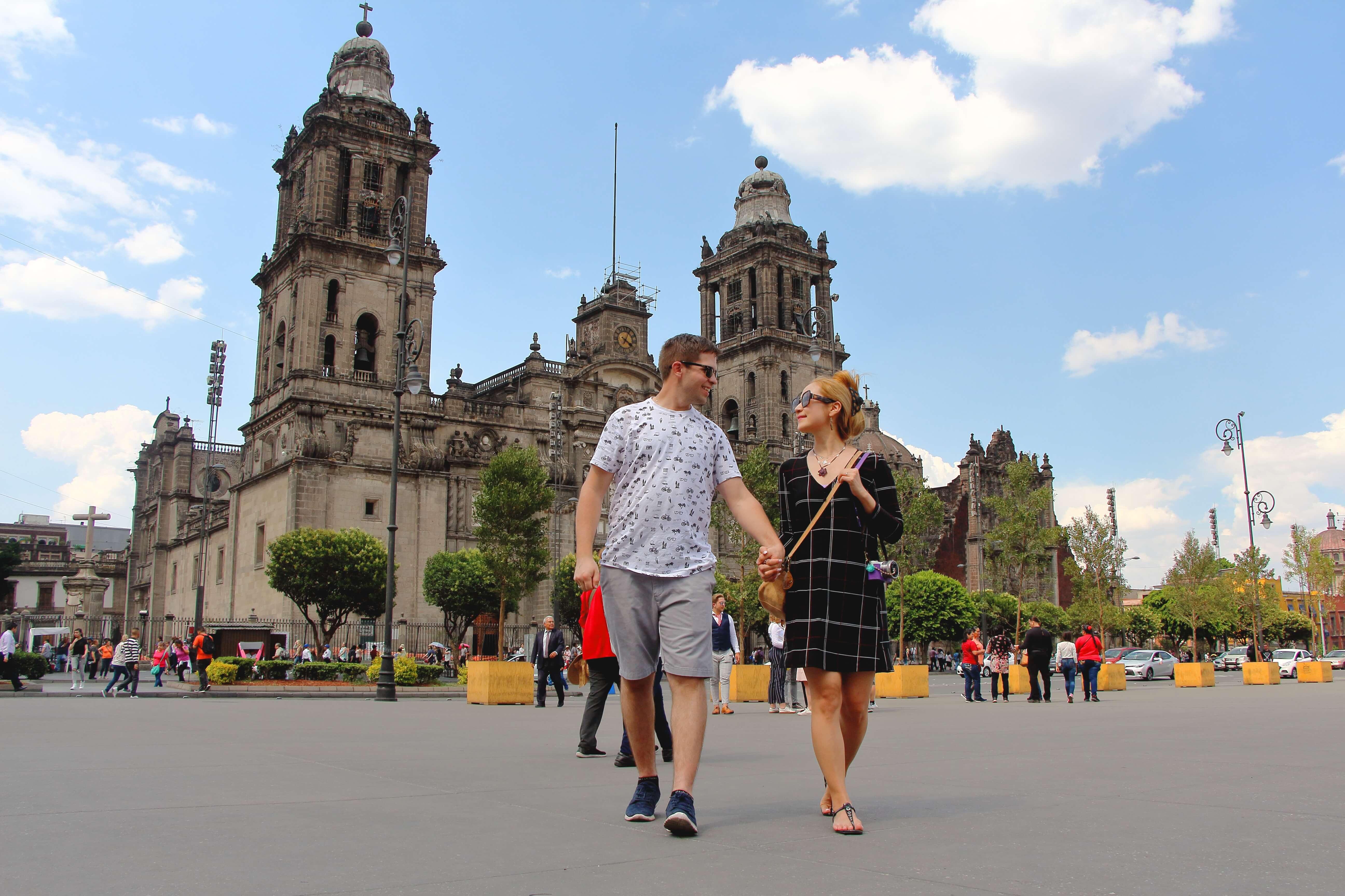 Zocalo, Mexico City Walking Tour