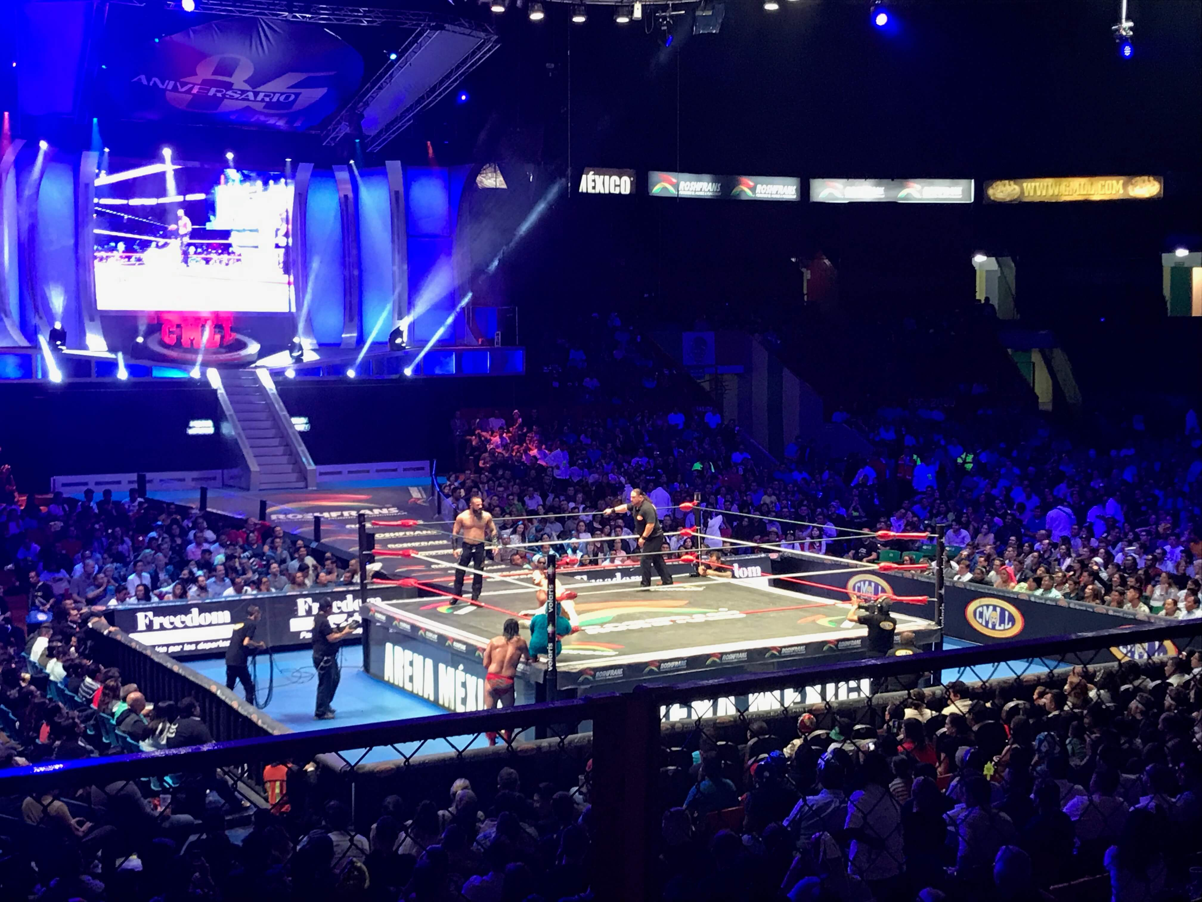 Lucha Libre  Wrestling in Mexico City