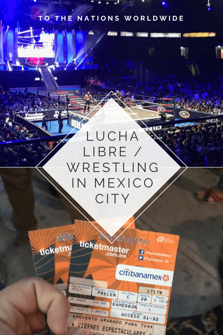 Lucha Libre / Wrestling in Mexico City