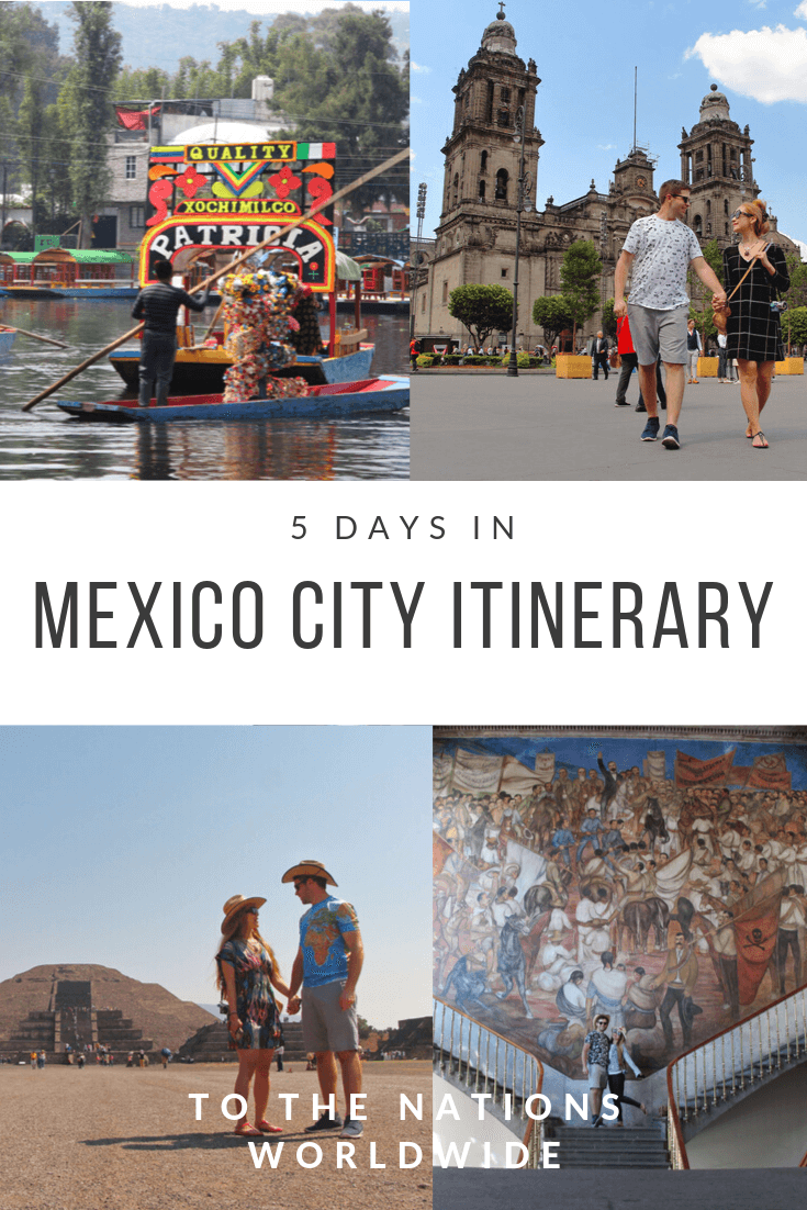 5 Days in Mexico City Itinerary