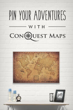 Best Personalised World Map Gift for Travel Lovers