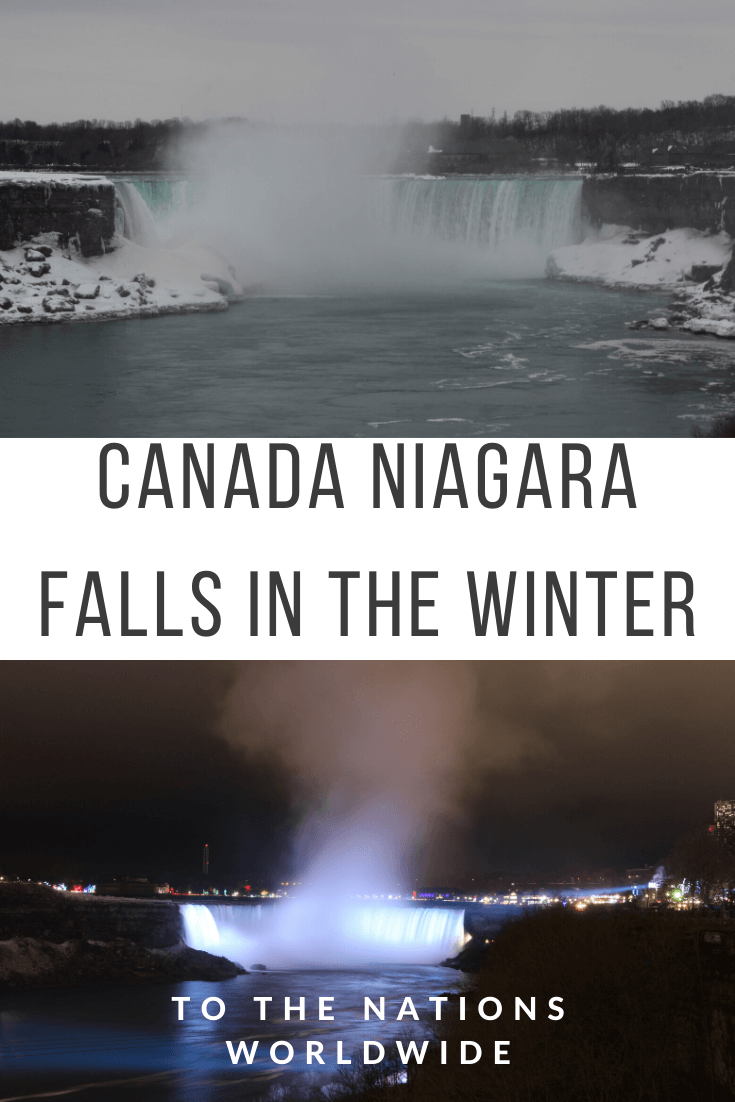 Canada Niagara Falls in the Winter: Activities and One Day Itinerary